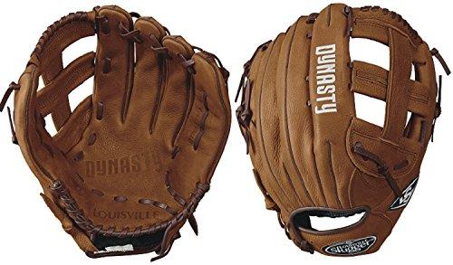 Louisville Slugger Dynasty Slow Pitch Softball Gloves, Left Hand, 13', Caramel