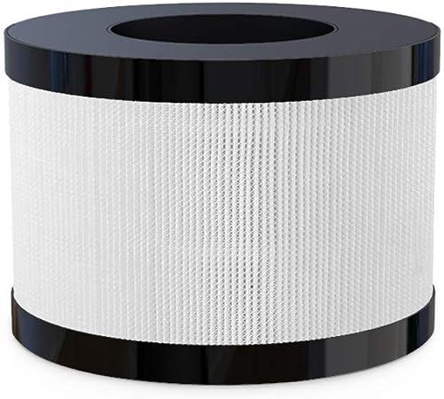 HIMOX purificador de aire 4 en 1 filtración True HEPA + filtro de carbón activo + iones negativos Silent Home Air Cleaner: Amazon.es: Hogar