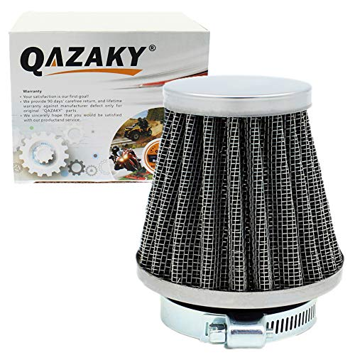 QAZAKY Universal 35mm Air Filter Cleaner for 50cc 70cc 90cc 110cc 125cc Motorcycle ATV Quad Scooter Go Kart Moped Pit Dirt Racing Super Pocket Mini Bike CRF50 CRF70 CRF90 XR50 XR70 XR90 Baja TaoTao