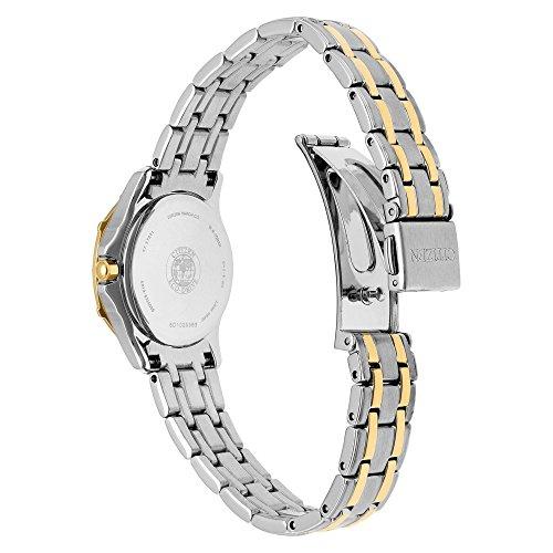 Citizen Women's 'Diamond' Quartz Stainless Steel Casual Watch (Model: EW2364-50A) by Citizen (Image #2)