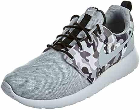 b079a6e5da07 NIKE Mens Roshe One SE Running Shoes Wolf Grey CAMO Black White 844687-