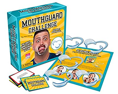 Mouthguard Challenge Game - Family and Party Game that's a Mouthful of Fun