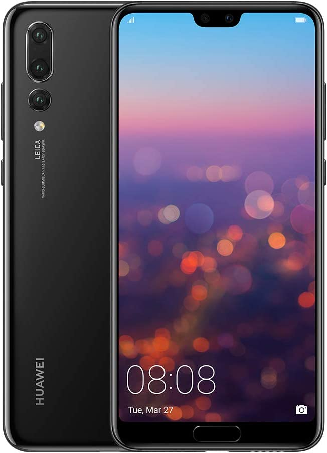 "Huawei P20 Pro Single SIM 4G 128GB Black - Smartphones (15.5 cm (6.1""), 128 GB, 40 MP, Android, 8.1, Black)"