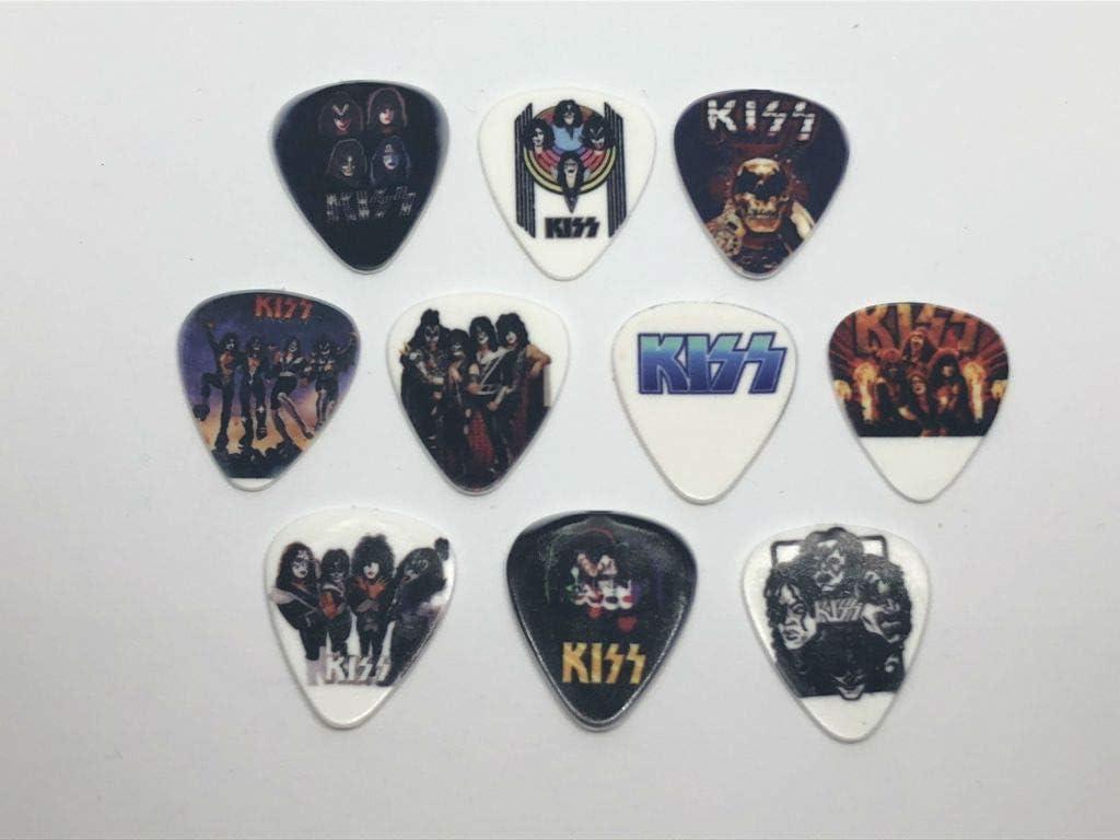 Juego de púas para guitarra Kiss (10 púas/10 diseños diferentes ...