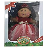 Cabbage Patch Kids 2016 Holiday Red And White Dress, Ethnic Girl, Brown Hair, Brown Eyes