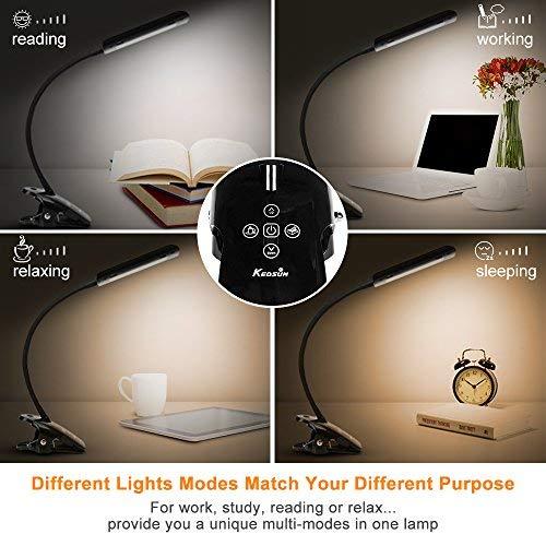Lights & Lighting Sweet-Tempered Book Light Led Reading Light Lamp Portable Mini Flexible Clip On Desk Light Bright White Travel Light