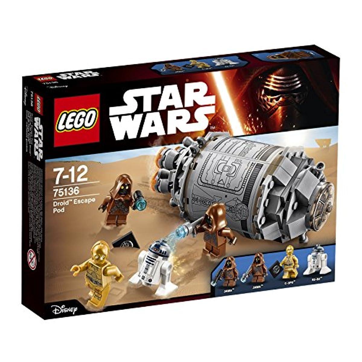 [해외] 레고 (LEGO) 스타워즈 드 그린 닌자(로이드)의 탈출 포드 75136