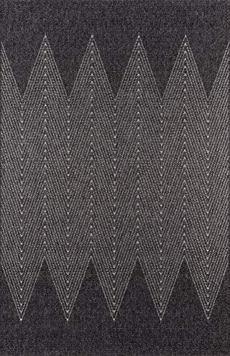 (Momeni Rugs COMO0COM-5CHR6796 Como Contemporary Geometric Indoor Outdoor Area Rug, 6'7