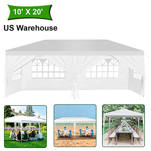 MTFY Outdoor Canopy Tent, Portable Gazebo Canopy Tent for Party Wedding Commercial Waterproof, UV...