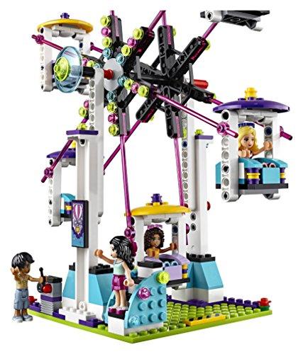 LEGO Friends 41130 Amusement Park Roller Coaster Building Kit (1124 Piece)