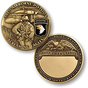 U.S. Army 101st Airborne Division Challenge Coin…