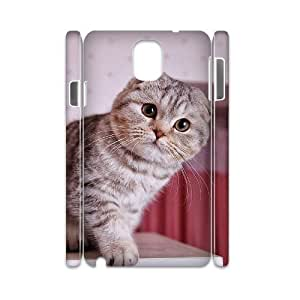 Winfors Scottish Fold Cat Phone 3D Case For Samsung Galaxy note 3 N9000 [Pattern-2]