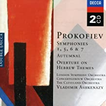 Prokofiev: Symphonies 1, 5, 6, & 7/Autumnal/Overture On Hebrew Themes