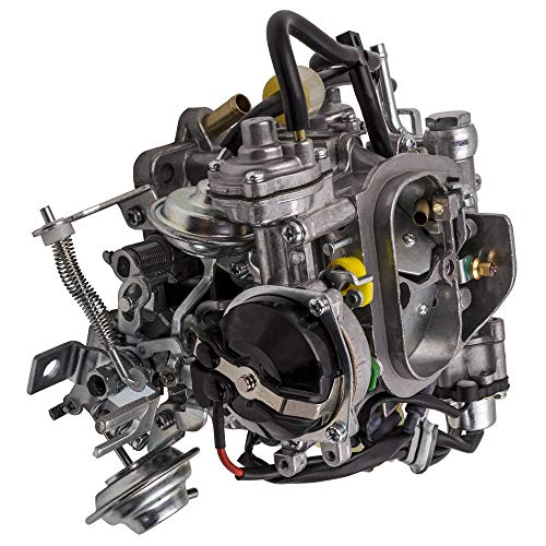 2-Barrel Carburetor for Toyota Pickup 22R Engine 1981-1987 with Round Plug Connector and Automatic Choke TOY-505 2.4L 2366cc