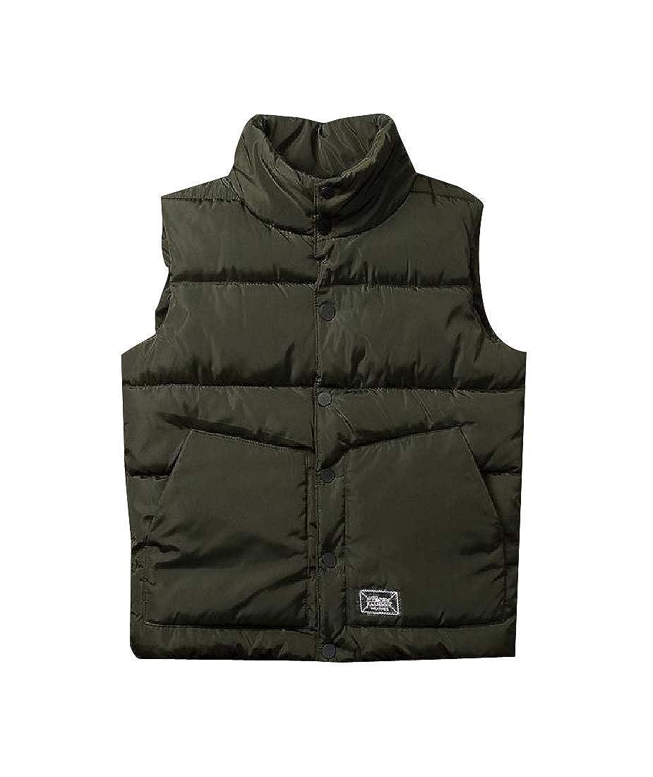 SportsX Men Packable Block-Quilted Outwear Coat Puffer Vest Down Jacket