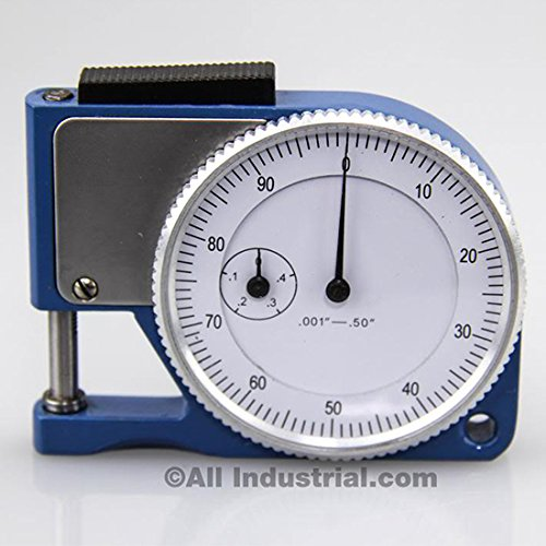 Pocket Thickness Gage Dial Indicator Gauge - 0.001