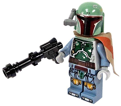 LEGO Star Wars Minifigure - Boba Fett Bounty Hunter with Blaster Gun (Darth Maul Lego Figure)