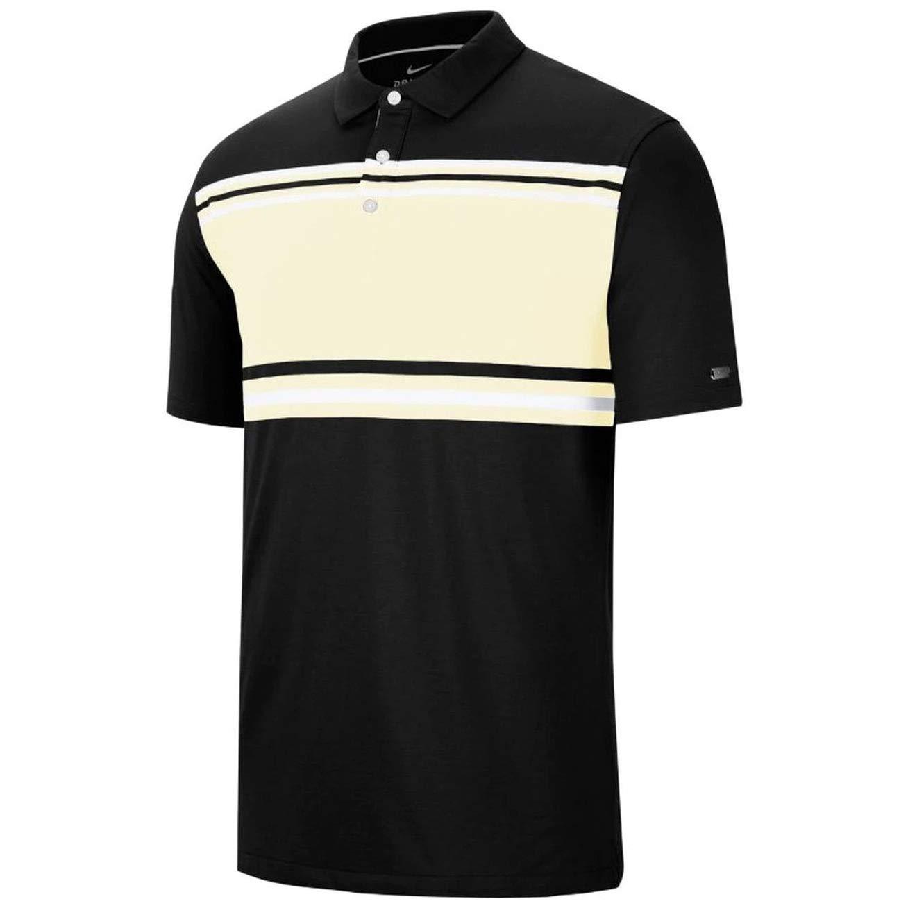 Nike Dri Fit Player Golf Polo 2020 - BV0470-010, S, Negro/Vela ...