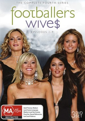 Footballers Wive$ (Complete Season 4) - 3-DVD Set ( Footballers' Wives ) ( Footballers' Wive$ - Complete Season Four ) [ NON-USA FORMAT, PAL, Reg.0 Import - Australia (Dynasty Complete Set)