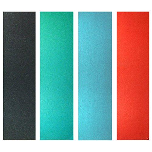 SONONIA 2個 お買い得 PVC製 スケートボード グリップテープ 黒