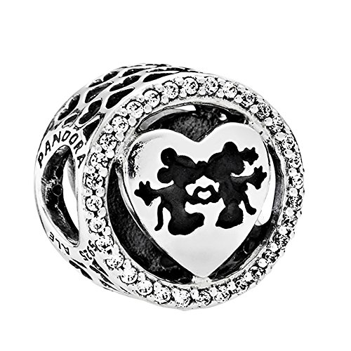 PANDORA Disney, Mickey & Minnie Love Charm