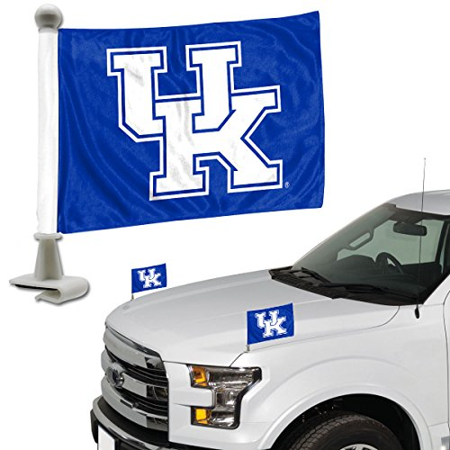 ProMark NCAA Kentucky Wildcats Flag Set 2Piece Ambassador Stylekentucky Wildcats Flag Set 2Piece Ambassador Style, Team Color, One Size