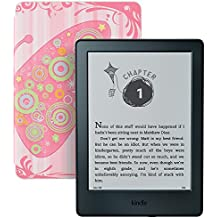 Kindle for Kids Bundle with the latest Kindle E-reader, 2-Year Worry-Free Guarantee, Butterfly Cover