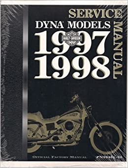Book 1997 - 1998 DYNA Models Service Manual (Official Factory Manual PN 99481-98)