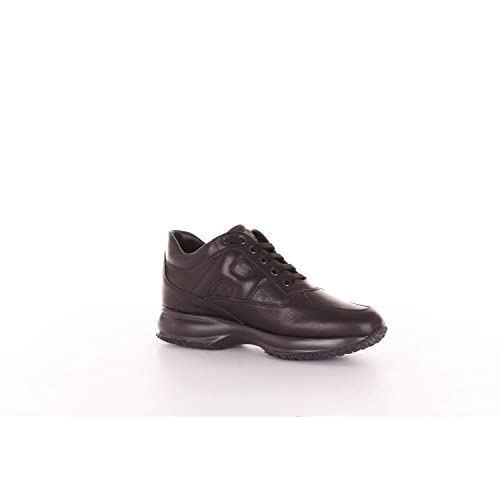 Hogan Mujer Hxw00n00010ds8b999 Negro Cuero Zapatillas