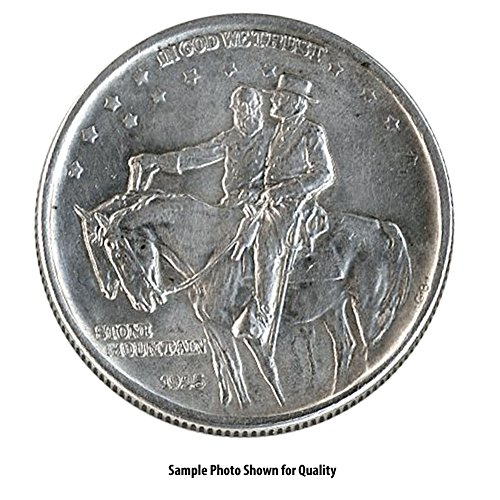 (1925 Stone Mountain Commemorative Half Dollar 50c Brilliant)