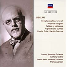Symphonies Nos.5,6&7; Karelia Suite & Overture by Anthony Collins/ThomasJensen (2014-10-14)