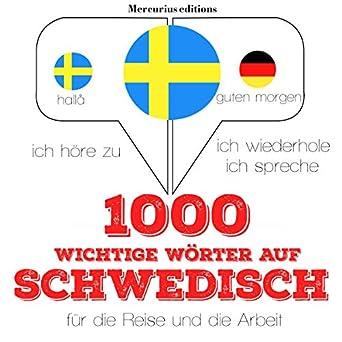 Amazoncom 1000 Wichtige Wörter Auf Schwedisch Für Die