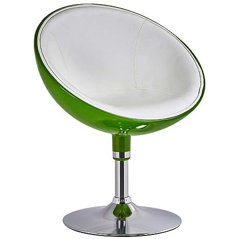 Amazon.com: Duhome Vanity - Silla giratoria (piel sintética ...