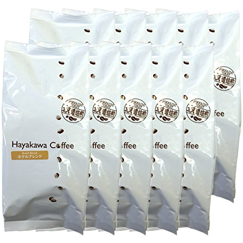 Japanese Tea Shop Yamaneen Regular Coffee Hotel Blend Grind Beans Large Volume 500G x 10packs by Japanese Tea Shop Yamaneen