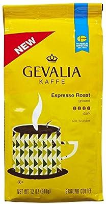 Gevalia Premium Espresso Roast Ground Coffee-12 oz