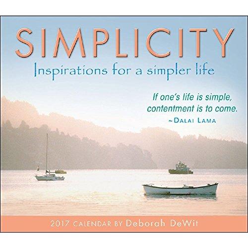 Simplicity 2017 Daily Desk Boxed Calendar (Scenic Desk Calendar)