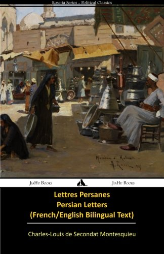 Lettres persanes/Persian Letters (French-English Bilingual Text)  [Montesquieu, Charles-Louis de Secondat] (Tapa Blanda)