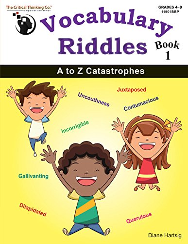 Vocabulary Riddles Book 1 - A to Z Catastrophes (Grades 4-8)