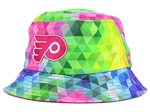 - Philadelphia Flyers NHL New Era Youth Gem Bucket Mulit-coloured Hat