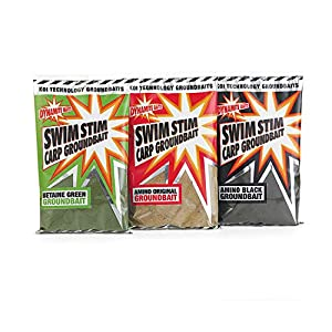 Dynamite Baits – swim-stim groundbait – green betaine bait for carp fishing