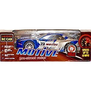 2008 Rooftop Brands - Propel Toys - Motive Por-Street Racer - 1:10 Scale RC Car - 49MHz