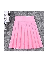MRxcff-Junior Girls Uniforms Japanese Mini Skirt High Waist Pleated Skirts Students Girl School Uniform Cosplay Skirt Linings