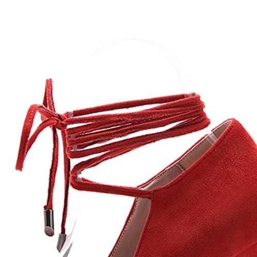 Cerrado Rojo Mujer Agodor Agodor Cerrado qvpSEE