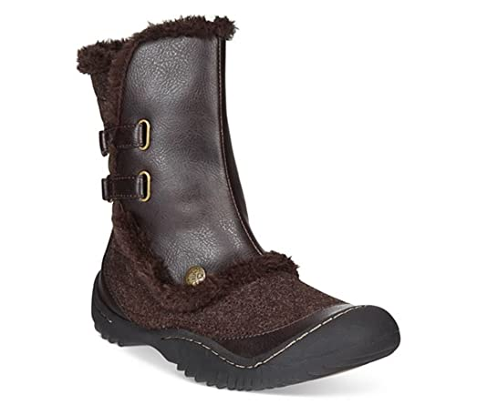 JBU by Jambu Iceburg Women US 6.5 Brown Winter Boot