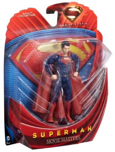 Man of Steel Movie Masters Superman Action Figure