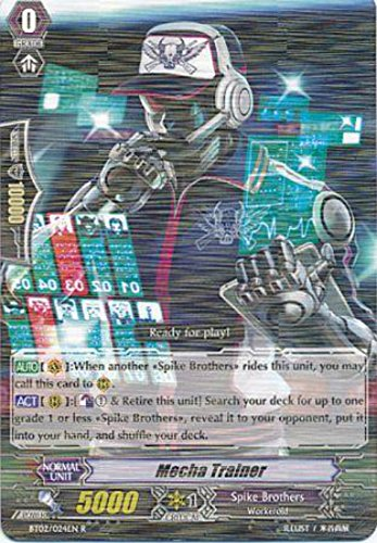 Cardfight!! Vanguard TCG - Mecha Trainer (BT02/024EN) - Onslaught of Dragon Souls