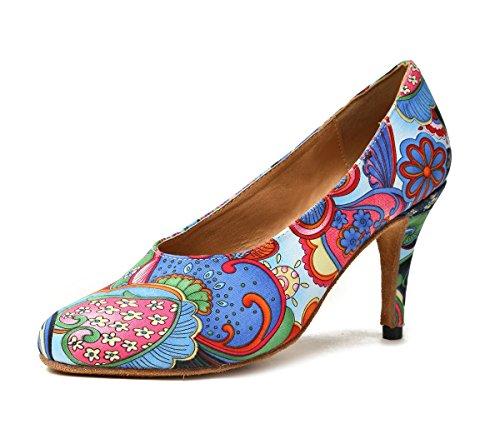 Minitoo De salón mujer Blue-8.5cm Heel