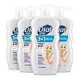Dial Kids 3-in-1 Body+Hair Wash, Peach, 24 fl oz