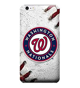 iPhone 6 Plus Case, MLB - Washington Nationals Game Ball - iPhone 6 Plus Case - High Quality PC Case