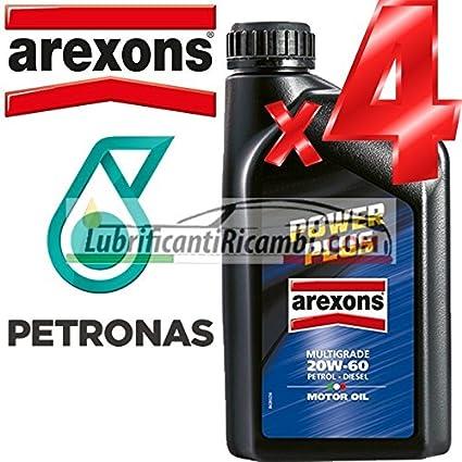 Arexons Petronas – Set de 4 envases de 1 litro de aceite de motor ...